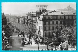 Marseille Le Boulevard D'Athènes - L'arrivée Par La Gare St Charles - Canebière, Centre Ville