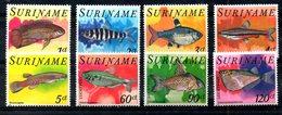 SURINAME, 1978,  FISHES 8v. MNH** - Fishes