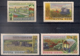 Russia 1954, Michel Nr 1741-44, MNH OG - Nuovi