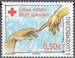 Luxembourg 2006 Michel 1707 Neuf ** Cote (2008) 1.00 Euro Croix Rouge - Ongebruikt