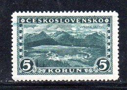 APR1700 - CECOSLOVACCHIA 1926 , Yvert N. 228 * Linguellato.  (2380A) - Nuovi