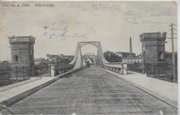 AK 0275  Steinau A. Oder (  Scinava ) - Oderbrücke Um 1915 - Polen