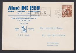 Aimé DE REU / Wijne Likeuren Champagnes - Antwerpen 1951 - Vins & Alcools