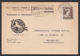 Distilleerderij Likeur Stokerij - Antwerpen 1952 - Daniel De Visser & Zonen - Vins & Alcools