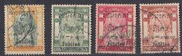 SIAM - 1908 - Lotto Di 4 Valori Usati: Yvert 72/75. - Siam