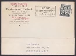 "Distillerie Liege - Willems & Fils Maatschappij ""HOLLAND"" - Vins & Alcools"