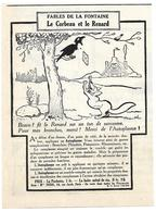 1924 L'Autoplasme Illustrateur Benjamin Rabier - Le Corbeau Et Le Renard - Fables De La Fontaine - Publicité - Publicités