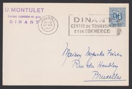 DINANT U. Montulet - Denrée Coloniales. Commande D'étiquettes - Vins & Alcools