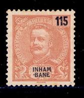 ! ! Inhambane - 1903 King Carlos 115 R - Af. 25 - No Gum - Inhambane