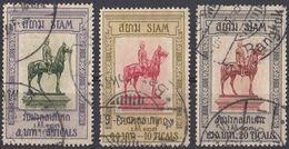 SIAM - 1908 - Lotto Di 3 Valori Usati: Yvert 80/82. - Siam