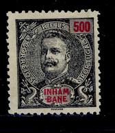 ! ! Inhambane - 1903 King Carlos 500 R - Af. 29 - No Gum - Inhambane