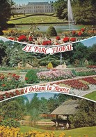 45 Orléans Parc Floral De La Source Divers Aspects (2 Scans) - Orleans