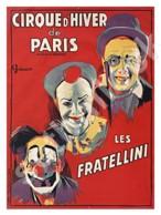 Circus Vintage Poster   Entertainment   Postcard Ukraine - Circus