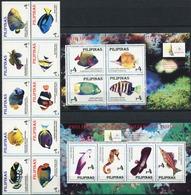 PHILIPPINES 1996 Marine Life Fish Fishes Animals Fauna MNH - Peces