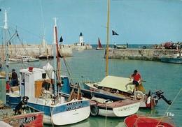 17 La Flotte En Ré Entrée Du Port (2 Scans) - Autres Communes