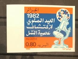 Algerie/Algeria Imperf Découverte Du Bacille De La Tuberculose Par Robert Koch YT755 Non Dentelé En Neuf**/MNH - Algeria (1962-...)