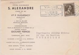MOLENBEEK - Duquesnoy - Champagnes - Whisky - Vins - Liqueurs - Vins & Alcools