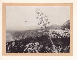 TAORMINA TAORMINE Sicile  Août 1926 Photo Amateur Format Environ 6,5 Cm X 5,5 Cm - Lieux