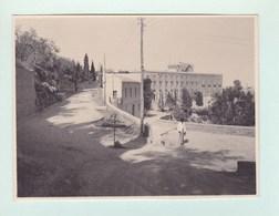 TAORMINA TAORMINE Sicile 1935 Photo Amateur Format Environ 6,5 Cm X 5,5 Cm - Lieux