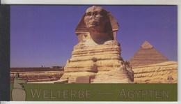 = Carnet Egypte Patrimoine Mondial Memphis Thèbes Isis, Le Caire, Horeb, Abou Mena C456 état Neuf Nations Unies Vienne - Carnets
