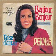 "7"" Single, Paola, Bonjour, Bonjour - Sonstige - Deutsche Musik"