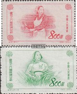 People's Republic Of Cina 200-201 (completa Edizione) Non Usato 1953 International Donne - 1949 - ... Volksrepublik