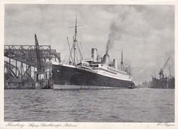AK Hamburg - Hapag-Schnelldampfer Reliance -  H. V. Seggern (42289) - Mitte