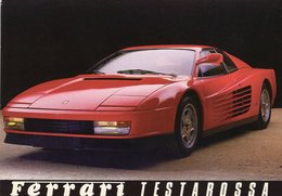 Ferrari Testarossa  By Zumbrunn    -  CPM - Turismo