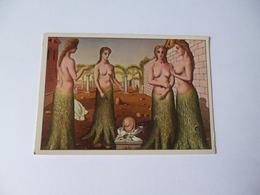 FEMME SEINS NUS  ( La Naissance Du Jour ) De Paul Delvaux - Paintings