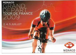 CPM MONACO Grand Départ Du Tour De France 2009 - Monaco