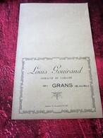 HUILE D'OLIVE-Café-SAVON-BEURRE-SAVONN-LOUIS GOUIRAND DOMAINE De GARJANNE GRANS-PRIX-COURANT Facture Document Commercial - Alimentare