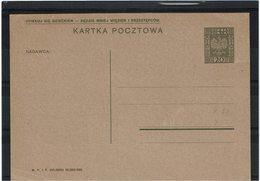 FAL12 - POLOGNE CARTE POSTALE MICHEL N° 51 NEUVE - Ganzsachen