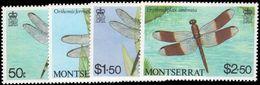 Montserrat 1983 Dragonflies Unmounted Mint. - Montserrat