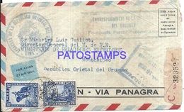 115333 PERU COVER YEAR 1936 CENSORED CIRCULATED TO URUGUAY NO POSTAL POSTCARD - Pérou