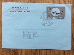 Belgie Belgique Belgiumn 1989, Aerogramme Luchtpostblad H. Bloedprocessie Brugge - 1893-1800 Fijne Baard