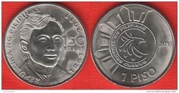 """Philippines 1 Piso 2011 Km#284 """"Jose Rizal"""" UNC - Philippinen"""