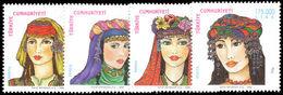 Turkey 1998 Traditional Headdresses Unmounted Mint. - Unused Stamps