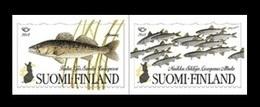 Finland 2018 Mih. 2585/86 NORDEN. Fauna. Fish Species Of The North MNH ** - Finlande