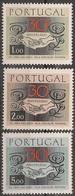 Portugal 1968 - Série Completa Educação Nacional 1025 A 1027 - Set Complete Mothers Organisation - Mint MNH** Neuf - 1910-... Republic