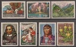Portugal 1968 - Série Completa Lubrapex Madeira 1031 A 1037 - Set Complete Exhibition Portuguese Stamp - Mint MNH** Neuf - 1910-... Republic