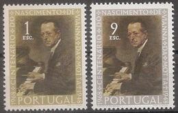 Portugal 1969 - Série Completa Nascimento Vianna Da Mota 1050 A 1054 - Set Complete Birth Vianna Mota - Mint MNH** Neuf - 1910-... République