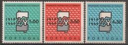 Portugal 1969 - Série Completa Organização Trabalho 1047 A 1049 - Set Complete Workers Association - Mint MNH** Neuf - 1910-... Republic