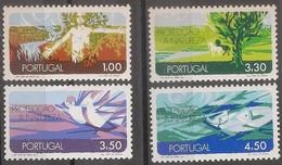 Portugal 1971 - Série Completa Protecção Natureza 1122 A 1125 - Set Complete Environmental Protection - Mint MNH** Neuf - Neufs