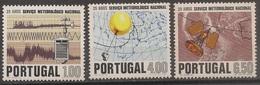 Portugal 1971 - Série Completa Serviço Meteorologico 1116 A 1118 - Set Complete Meterological Service - Mint MNH** Neuf - Neufs