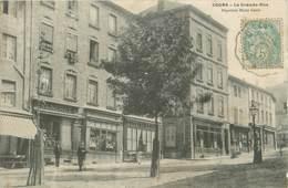""".CPA  FRANCE 69 """" Cours, Grande Rue"""" - Cours-la-Ville"""