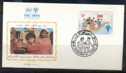 Afghanistan 1979 IYC International Year Of The Child FDC - Afghanistan