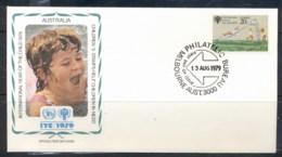 Australia 1979 IYC International Year Of The Child FDC - 1966-79 Elizabeth II
