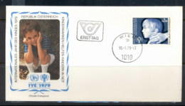 Austria 1979 IYC International Year Of The Child FDC - 1945-.... 2nd Republic