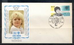 Belgium 1979 IYC International Year Of The Child FDC - Belgium