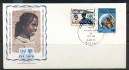 Comoro Is 1979 IYC International Year Of The Child FDC - Komoren (1975-...)